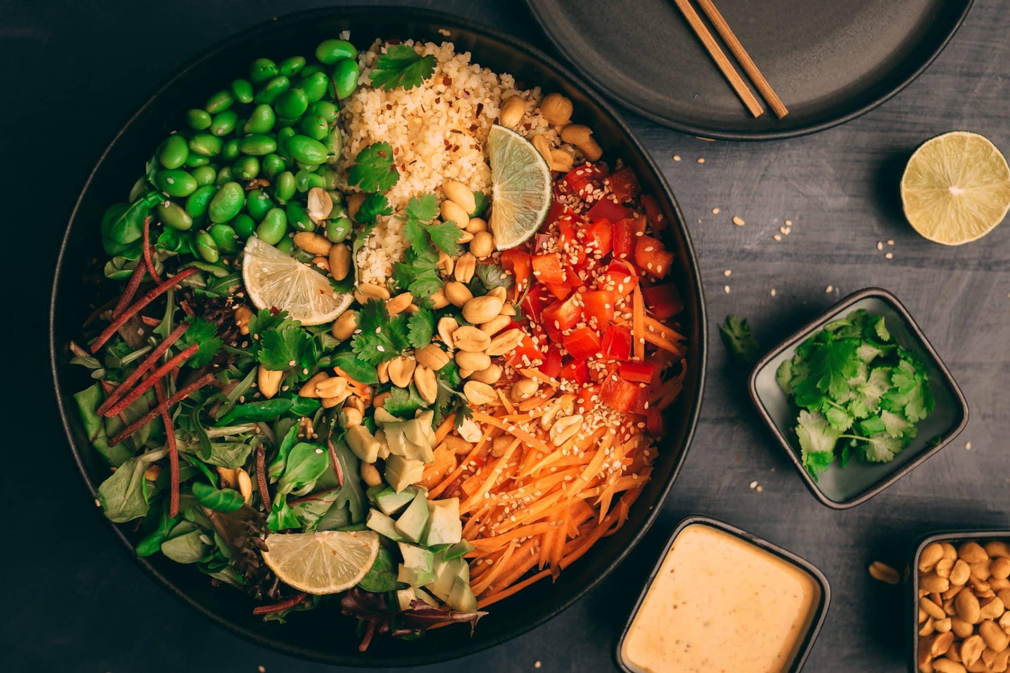 Vegane Asia Bowl