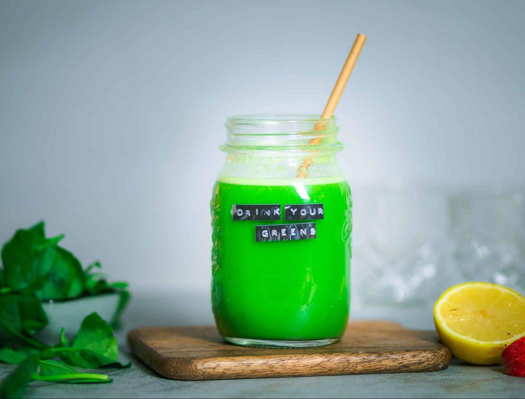 Drink your Greens – Grüner Powersaft