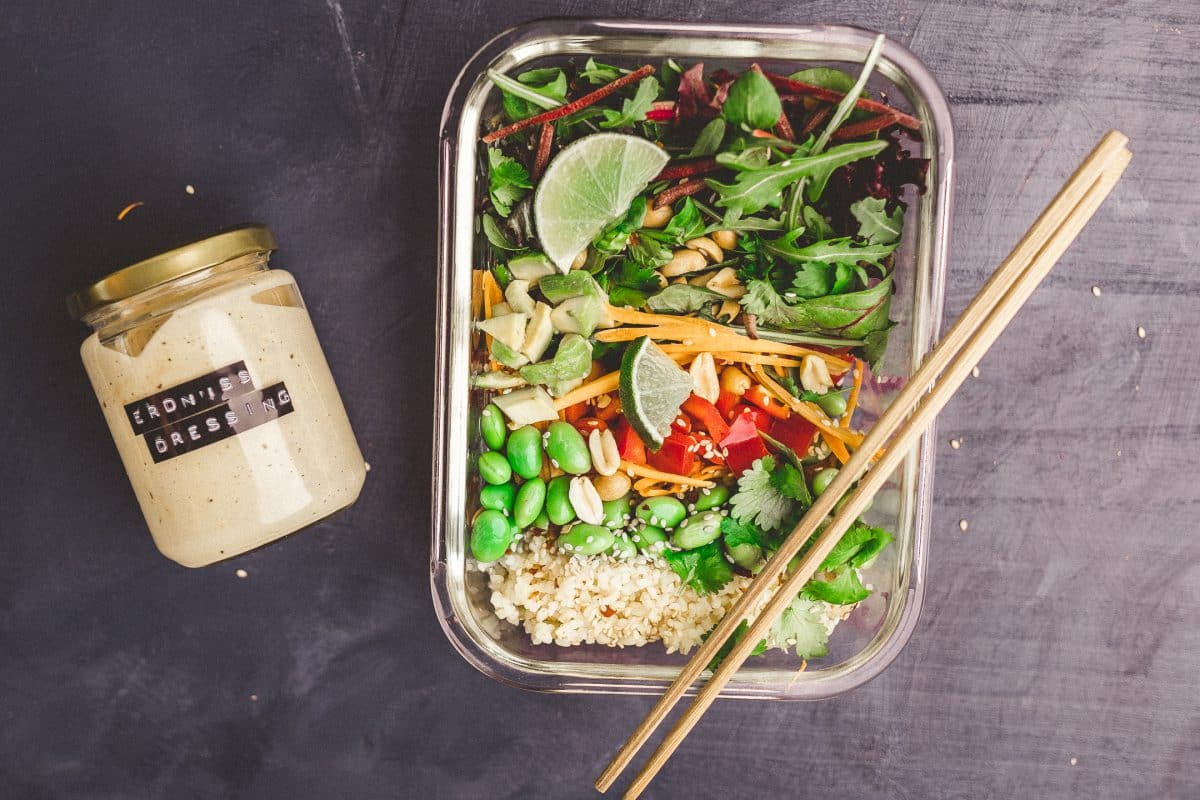 Vegane Asia-Bowl 3