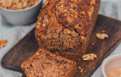 Walnuss-Dattel-Brot selber machen mit Rezept