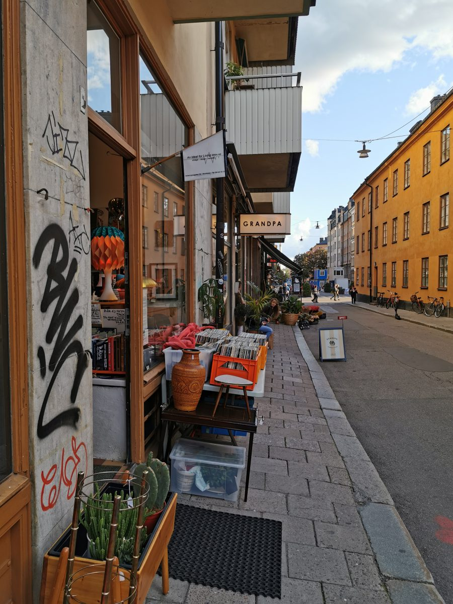 Coole Hipster-Shops wie Grandpa in Södermalm sind ein besonderes Highlight Stockholms