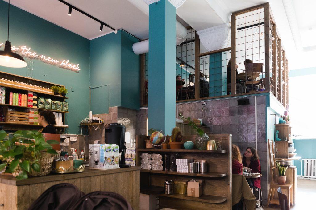 Das vegane Café Mahalo Stockholm