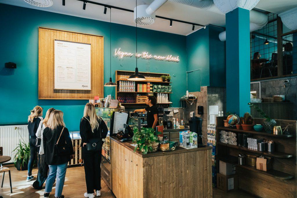 Veganes Café Mahalo in Stockholm