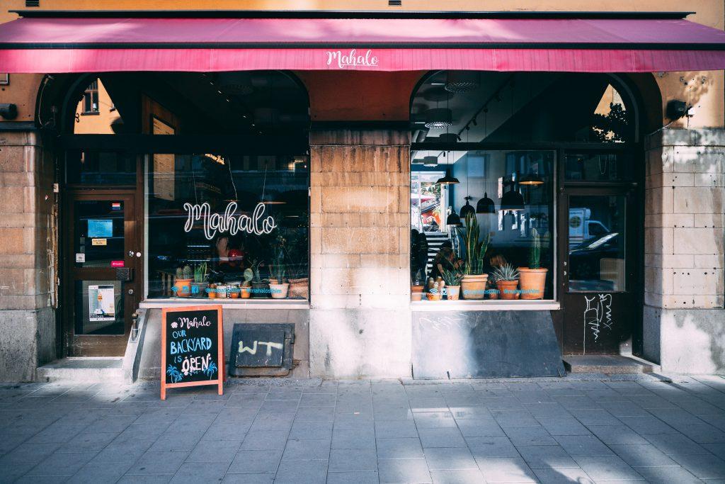 Das vegane Café Mahalo in Stockholm