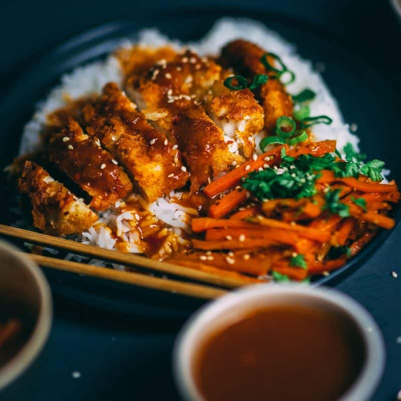 Japanisches Chicken Katsu Rezept