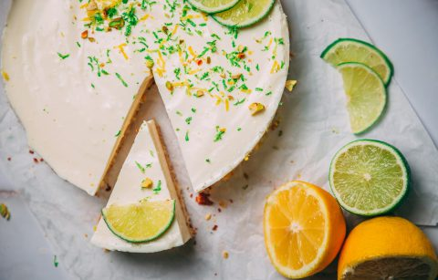 Leckerer Lime Cheesecake