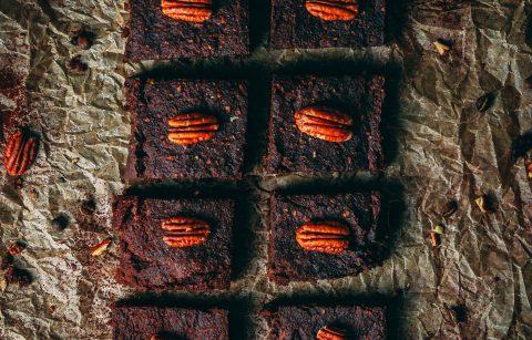 Vegane Süßkartoffel Brownies