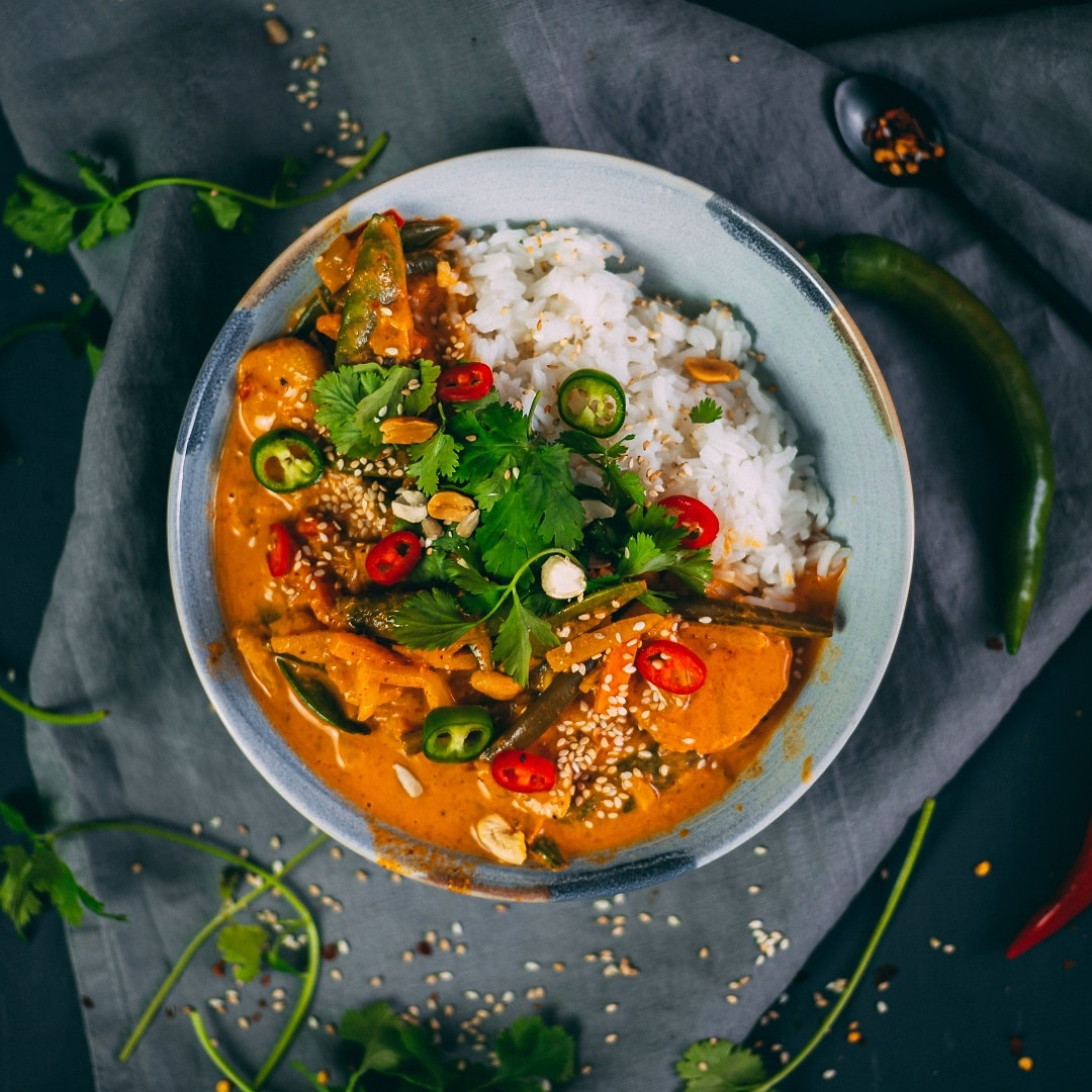 Thailändisches Gemüsecurry