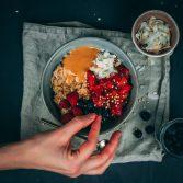 Warmes Mandel-Zimt Porridge Rezept
